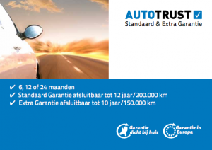 Autotrust Extra - Standaard Garantie
